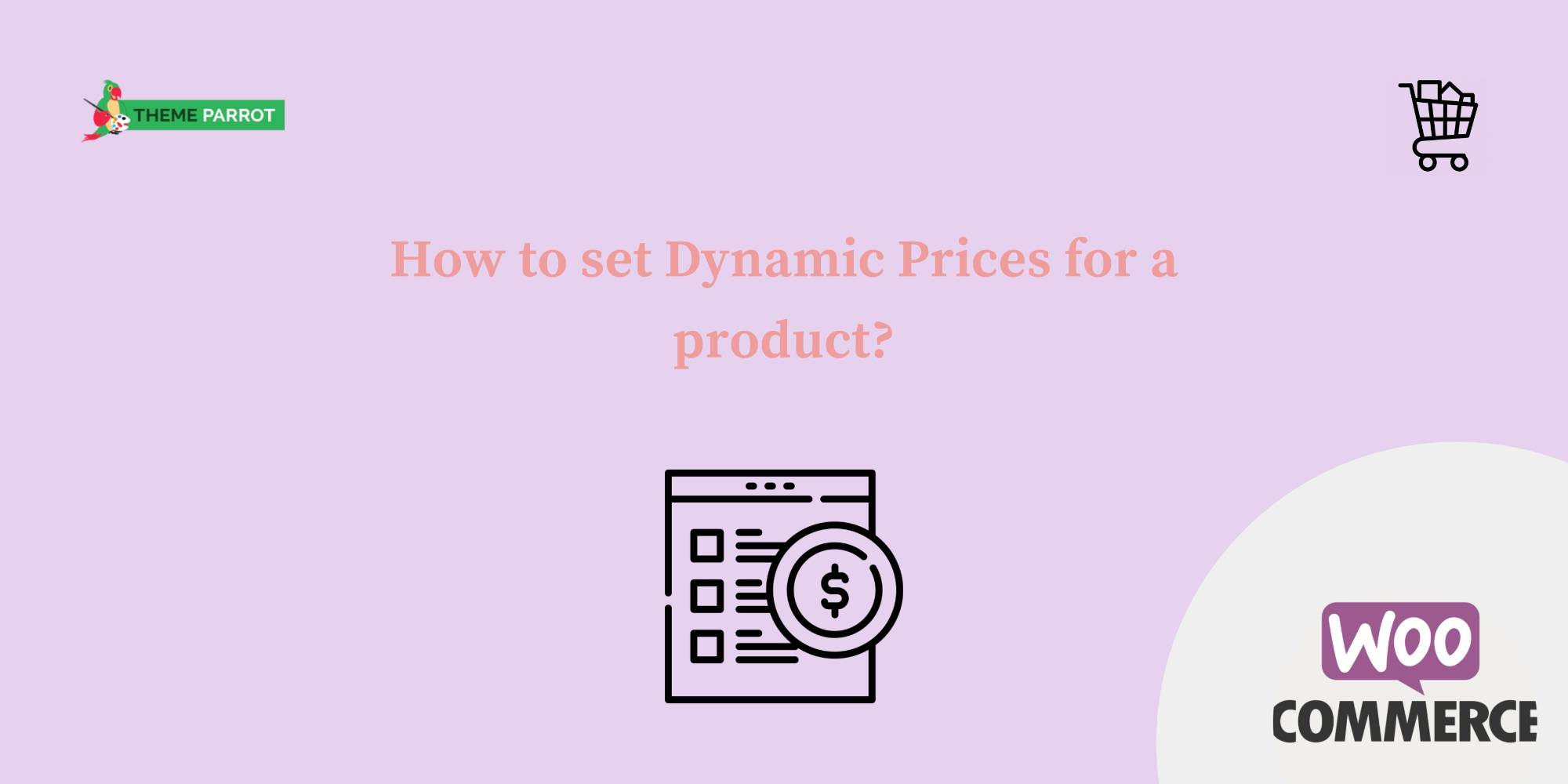 how to set dynamic prices for a product