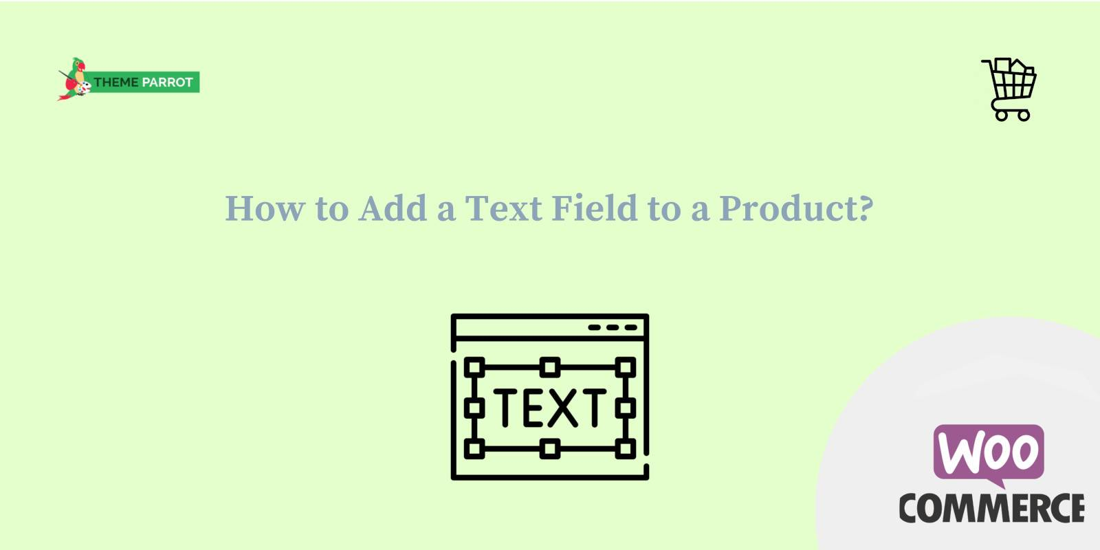 how to add a text field to a product