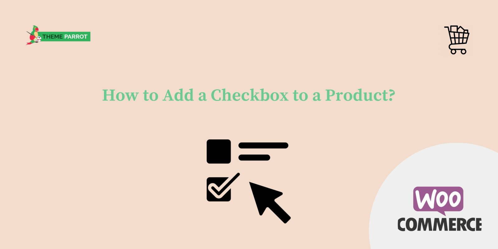 how to add a checkbox to a product