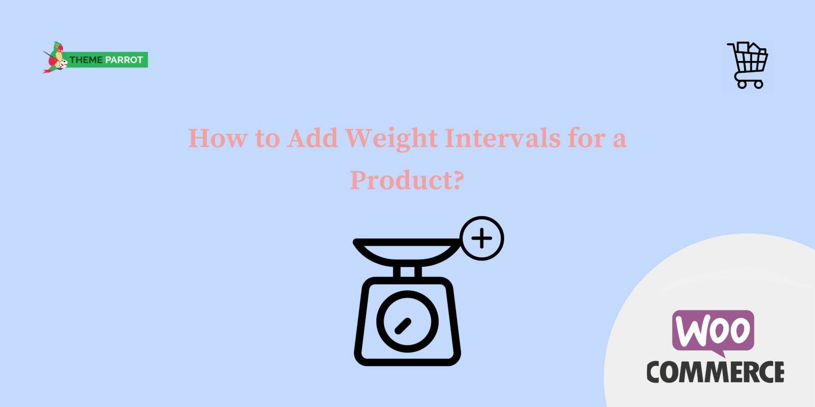 how to add weight intervals for a product