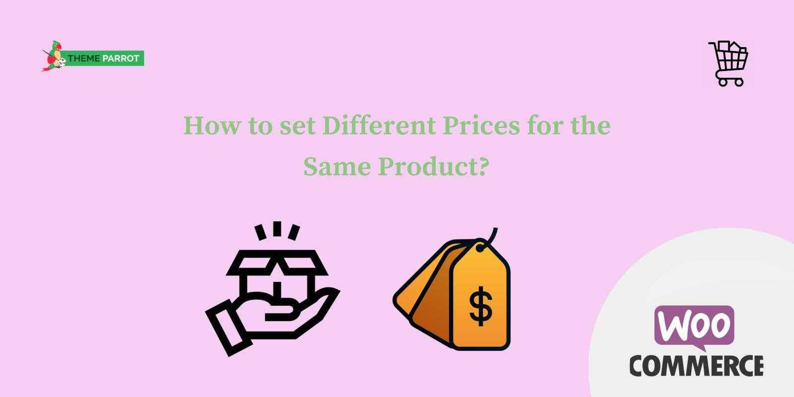 how to set different prices for the same product
