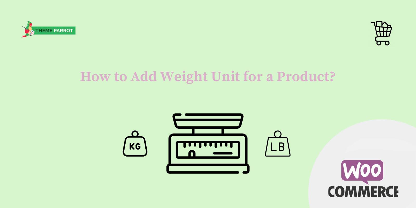 how to add weight units for a product