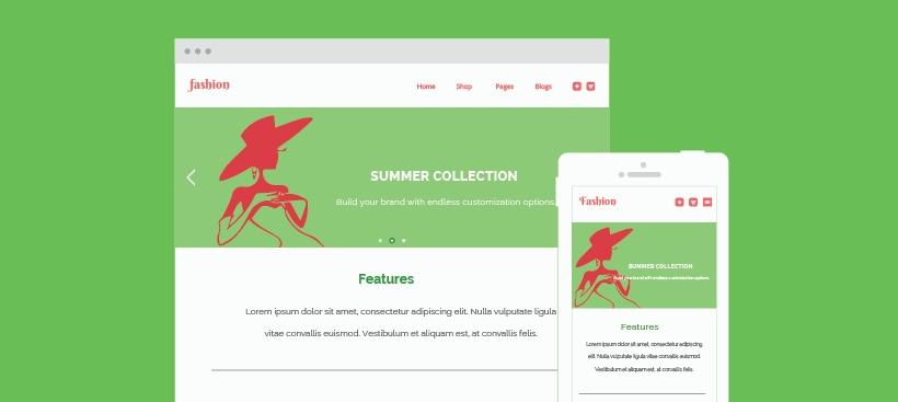fashion website templates for joomla